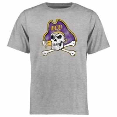 Fanatics Branded ファナティクス ブランド スポーツ用品  East Carolina Pirates Ash Big & Tall Classic Primary T-S