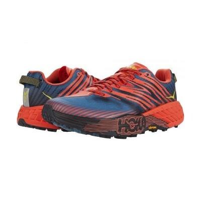 Hoka One One ホカオネオネ メンズ 男性用 シューズ 靴 スニーカー 運動靴 Speedgoat 4 - Fiesta/Provincial Blue