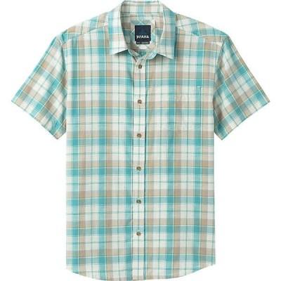 プラーナ シャツ メンズ トップス Prana Men's Benton Shirt Azurite