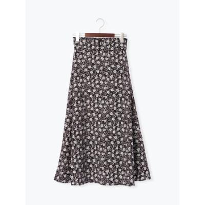 ◎花柄マーメイドスカート
