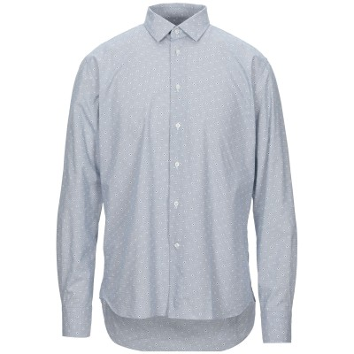 B011 シャツ ダークブルー 39 コットン 100% シャツ