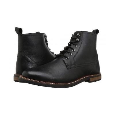 Ben Sherman ベンシャーマン メンズ 男性用 シューズ 靴 ブーツ レースアップ Birk Plain Toe Boot - Black 1