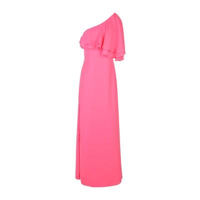 KI6? WHO ARE YOU? ロングワンピース&ドレス ピンク 44 100% ポリエステル ロングワンピース&ドレス