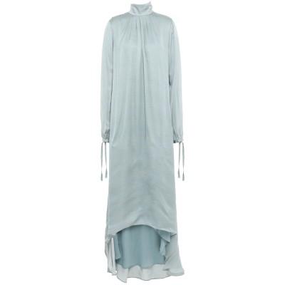 マニラ グレース MANILA GRACE 7分丈ワンピース・ドレス スカイブルー 42 レーヨン 100% 7分丈ワンピース・ドレス