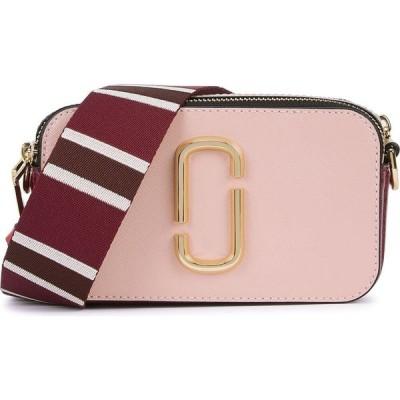 マーク ジェイコブス Marc Jacobs レディース ショルダーバッグ バッグ The Snapshot Small leather cross-body bag Pink