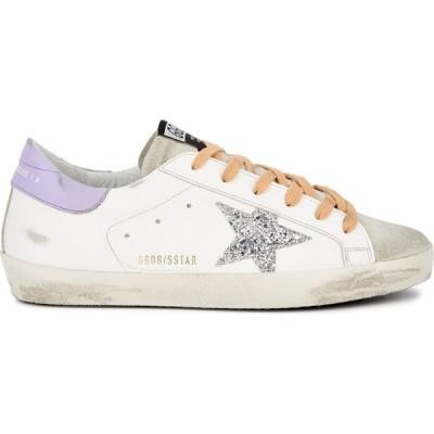 ゴールデン グース Golden Goose Deluxe Brand レディース スニーカー シューズ・靴 superstar distressed leather sneakers Purple