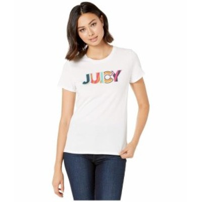 Juicy Couture ジューシークチュール 服 一般 Summer Juicy Graphic Classic Short Sleeve Tee