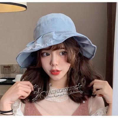 2019 ハット 日よけ  折りたたみ  帽子 レディース  夏用   UVカット大きいサイズ  帽子 ウォーキング 日焼け防止 紫外線 UV帽子