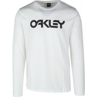オークリー Oakley メンズ 長袖Tシャツ トップス mark ii l/s t-shirt Black/White