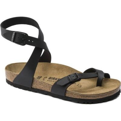ビルケンシュトック Birkenstock レディース サンダル・ミュール シューズ・靴 Yara Sandals Black Birko-Flor