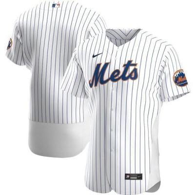 ナイキ メンズ Tシャツ トップス New York Mets Nike Home 2020 Authentic Team Jersey