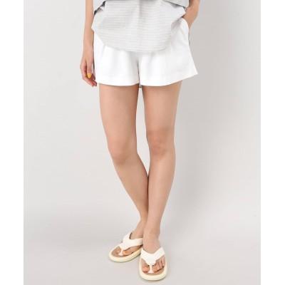 レディース ジャーナルスタンダード 【OSKAR/オスカー】 Midnight Rambler drawstring shorts:ショートパンツ ホワイト S