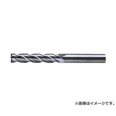 三菱 4枚刃超硬センタカットエンドミル(ロング刃長) ノンコート 6mm C4LCD0600 [r20][s9-830]