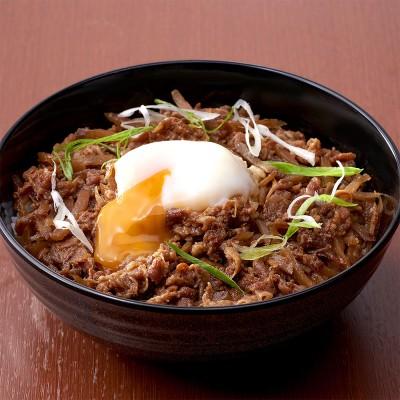 柿安本店 牛肉しぐれ煮丼・牛めしまぜご飯セット