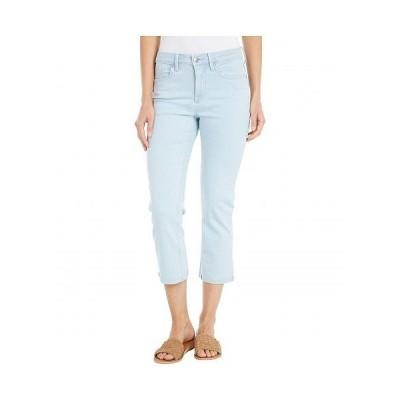NYDJ エヌワイディージェー レディース 女性用 ファッション ジーンズ デニム Chloe Capri Jeans with Raw Cuffs in Valhalla - Valhalla