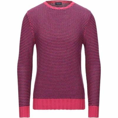 ドルモア DRUMOHR メンズ ニット・セーター トップス sweater Fuchsia