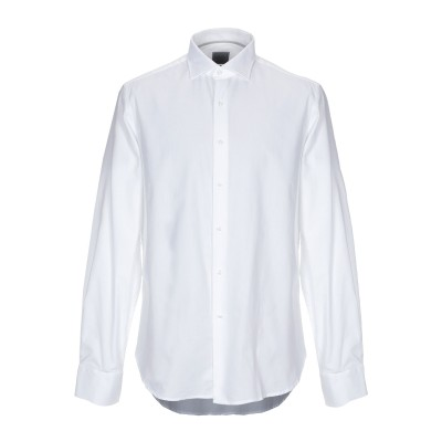 WEBB & SCOTT CO. シャツ ホワイト 38 コットン 100% シャツ