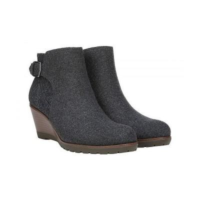 Dr. Scholl's ドクターショール レディース 女性用 シューズ 靴 ブーツ アンクル ショートブーツ Noelle - Charcoal