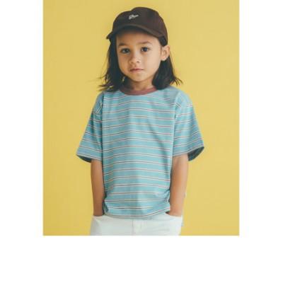 ◆コットンボーダーリンガーTシャツ