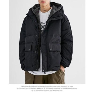 2021 ダウンジャケット メンズ ダウンコート  軽量 保温 アウター 防寒 防風 冬服 冬 彼氏 男性 ジャンパー おしゃれ あったか