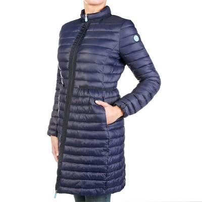 セーブザダック ジャケット・ブルゾン レディース アウター Save the Duck Women's Coat Navy Blue
