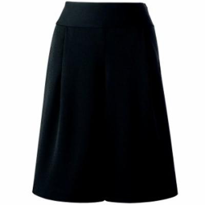セロリー SELERY キュロット 15990 ブラック (5~15号) 通気性 オフィスウェア 事務服 通勤服 企業制服
