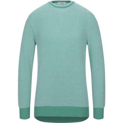 ジオ フェラーリ GIOFERRARI メンズ ニット・セーター トップス sweater Green