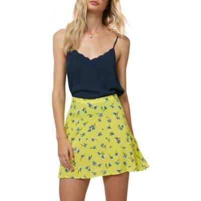 オニール O'Neill レディース スカート Sindra Floral Skirt Bright Lemon