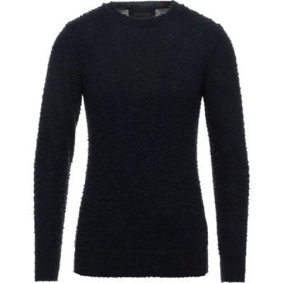 オフィチーナ トレンタ セイ OFFICINA 36 メンズ ニット・セーター トップス Sweater Dark blue