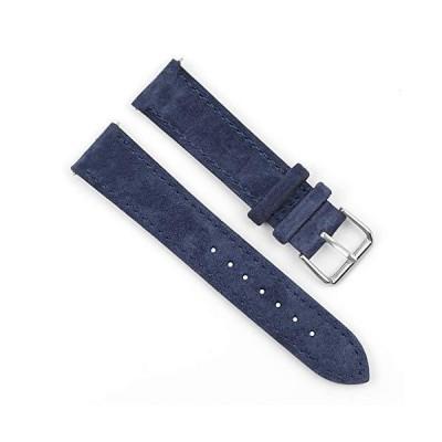Onthelevel 時計ベルト 18mm 19mm 20mm 22mm 24mm スエード 腕時計バンド 男女兼用 クイックリリース 時計替えベルト 7色選択 調整工具とバネ棒付