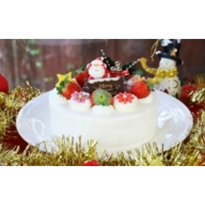 【クリスマス限定】苺屋 クリスマスケーキ 生クリーム 5号 B-323