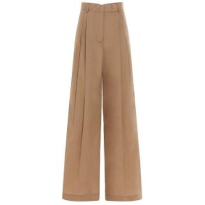NUDE/ヌード Beige Wide trousers レディース 春夏2021 110351320 ju