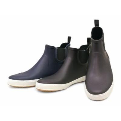 (A倉庫)BCR BC-132 メンズレインシューズ プレーントゥ サイドゴアブーツ メンズレインブーツ  紳士長靴 【送料無料】【smtb-TK】