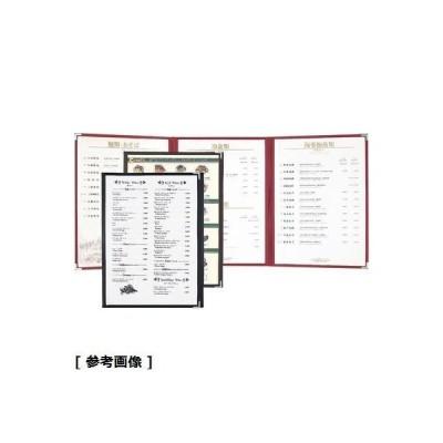 シンビ PTIB203 シンビ耐熱メニューブック(ABW-11-6P 赤)