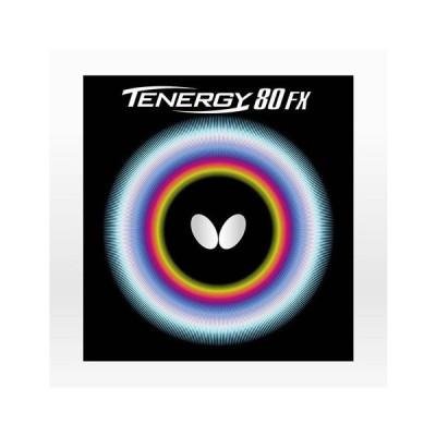 バタフライ(Butterfly) 卓球ラバー テナジー 80FX RED 05940 (メンズ、レディース、キッズ)