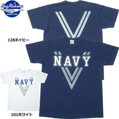 1点ならメール便可 BUZZ RICKSON'S バズリクソンズ #BR78238 半袖 リフレクター Tシャツ『NAVY』 メンズ ティーシャツ トップス
