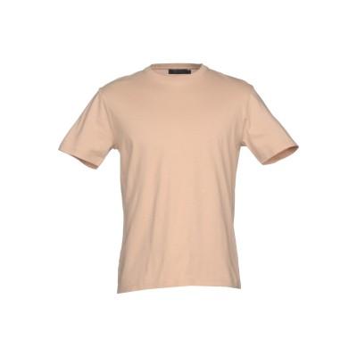 CALVIN KLEIN COLLECTION T シャツ ベージュ XS コットン 100% T シャツ