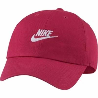 ナイキ Nike ユニセックス キャップ 帽子 Sportswear H86 Cotton Twill Adjustable Hat Fireberry
