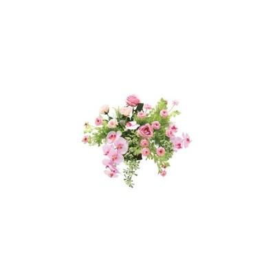 【送料無料・ポイント10倍】《アートフラワー》《人工観葉植物》光触媒 光の楽園  クリスティピンク