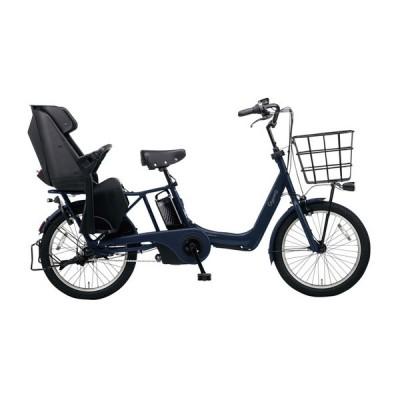 PANASONIC BE-ELAD032-V マットネイビー ギュット・アニーズ・DX [電動アシスト自転車(20インチ・内装3段変速)] 電動自転車