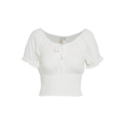 ピーシーズ プティ Tシャツ レディース トップス PCANNIE - Basic T-shirt - cloud dancer