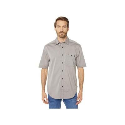 ウルヴァリン Grayson Short Sleeve Shirt メンズ シャツ トップス Gray Chambray
