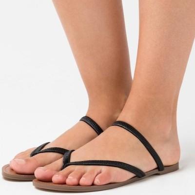 スティーブマデン レディース サンダル ENJOY - T-bar sandals - black