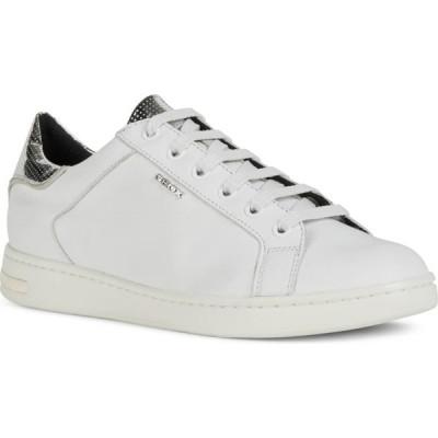ジェオックス GEOX レディース スニーカー シューズ・靴 Jaysen Sneaker White/Silver
