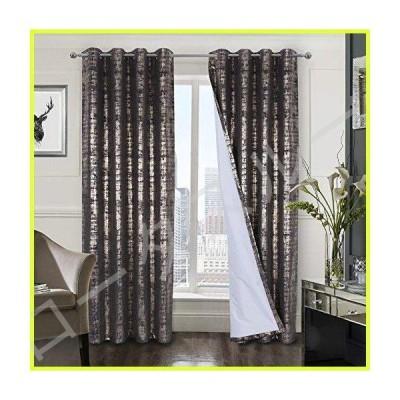 Alexandra Cole 100%遮光ウィンドウカーテン 寝室 リビングルーム ベルベット 部屋を暗くするカーテン 高級