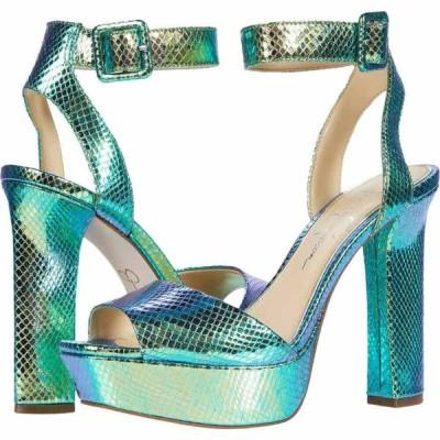 ジェシカシンプソン Jessica Simpson レディース サンダル・ミュール シューズ・靴 Maicie Mermaid/Green