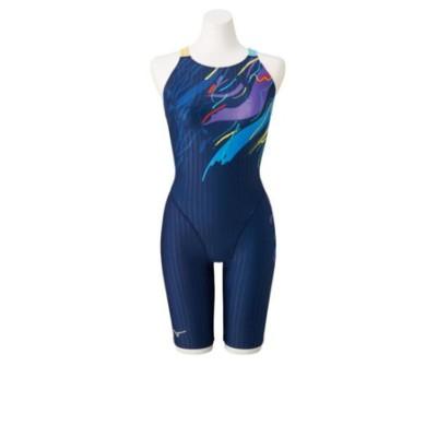 ミズノ(MIZUNO)競泳用ハーフスーツ マスターズバック N2MG074482