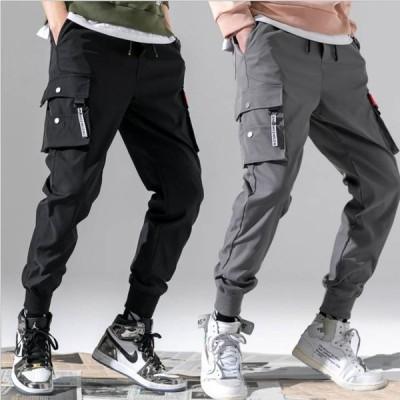 パンツ メンズ カーゴパンツ ウエストゴム メンズパンツ ズボン カジュアルパンツ 男性用 メンズファッション リモートワーク ウォーキング ゴルフパンツ ジム…