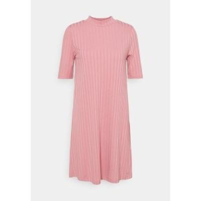 トムテイラーデニム レディース ワンピース トップス DRESS - Jumper dress - cozy rose cozy rose