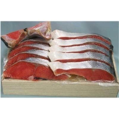 カナダ産塩紅鮭片身切身